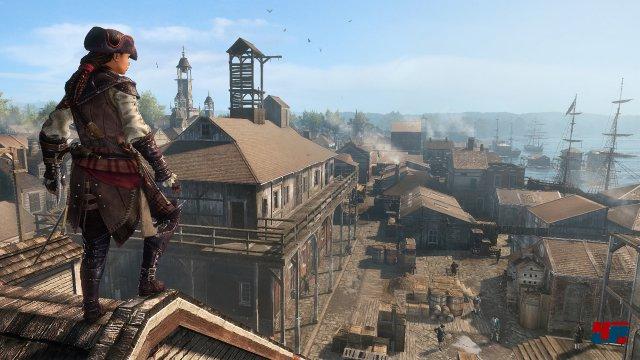 Alle wesentlichen Assassin's-Creed-Elemente sind vorhanden, dennoch kann Aveline nicht in gleichem Maße Spannung aufbauen wie ihre männlichen Kollegen.