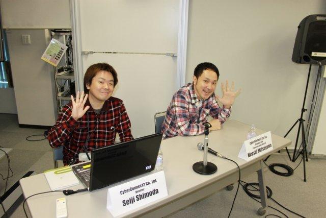 Erste Präsentation <br><br> Bevor wir selbst Hand ans Spiel anlegen konnten, stellte Matsuyama zusammen mit Game Director Seiji Shimoda die Vision dar, die sie mit Asura's Wrath umsetzen wollen. 2317622