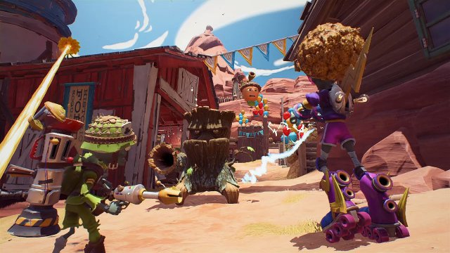 Screenshot - Plants vs. Zombies: Battle for Neighborville (Switch)
