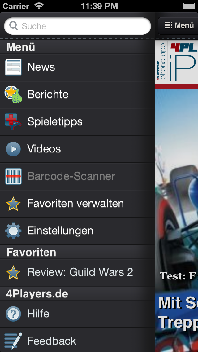 Screenshot - 4Players-App (iPhone) 92430087