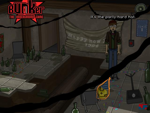 Screenshot - Bunker - The Underground Game (iPad)