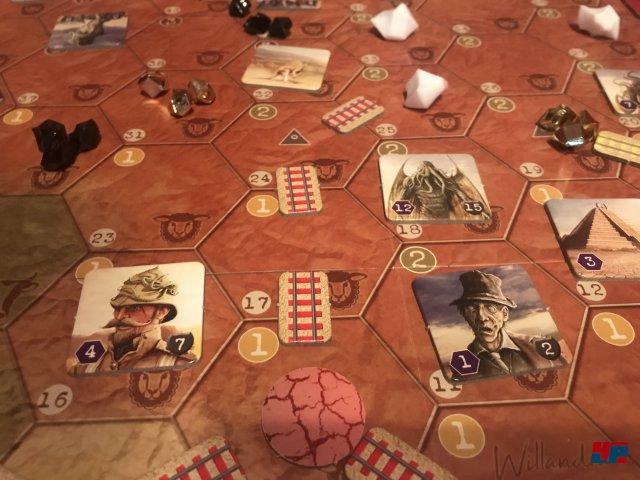 AuZtralien ist komplett auf Deutsch beim Schwerkraft Verlag erschienen. Es kostet knapp 70 Euro und ist für einen bis vier Spieler ab zwölf Jahren ausgelegt.