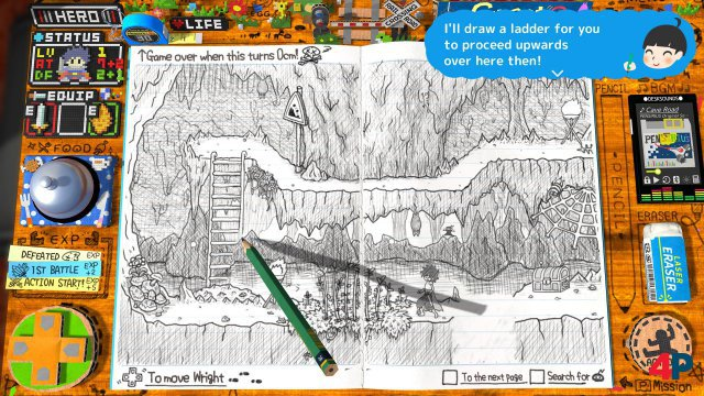 Screenshot - RPG Time: The Legend of Wright (One)