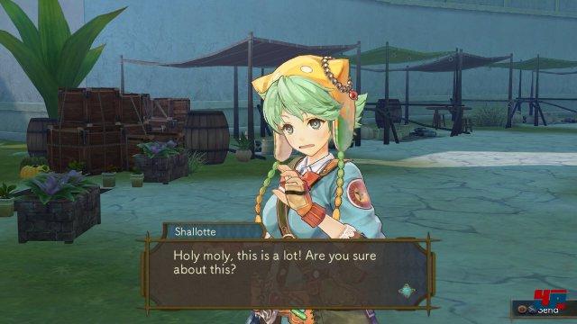 Screenshot - Atelier Shallie: Alchemists of the Dusk Sea (PlayStation3)