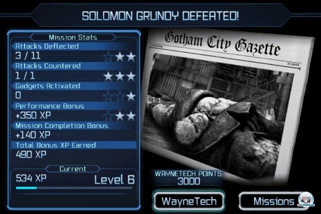 Screenshot - Batman: Arkham City Lockdown (iPhone) 2298407