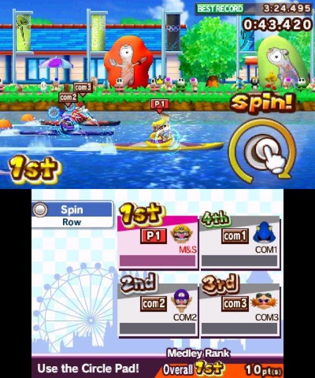 Screenshot - Mario & Sonic bei den Olympischen Spielen: London 2012 (3DS) 2304907