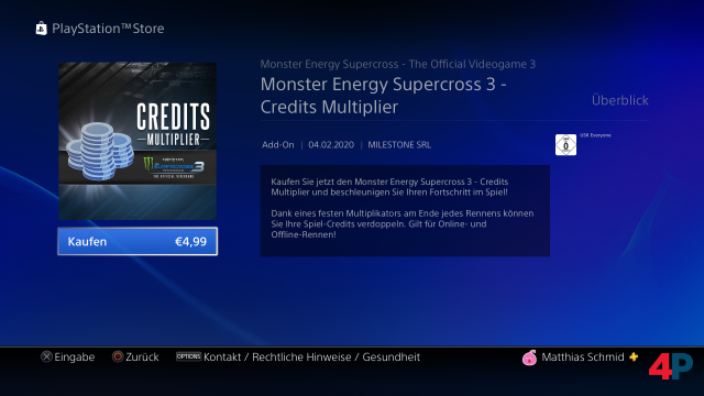 Screenshot - Monster Energy Supercross - The Official Videogame 3 (PS4)