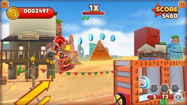 Screenshot - Joe Danger Touch (iPhone) 92439392