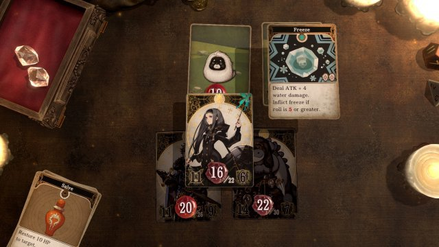 Screenshot - Voice of Cards: The Isle Dragon Roars (PC, PS4, Switch)