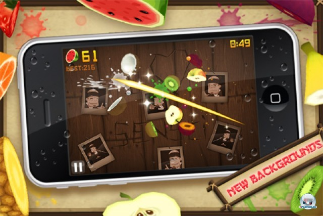 Screenshot - Fruit Ninja Kinect (iPhone)