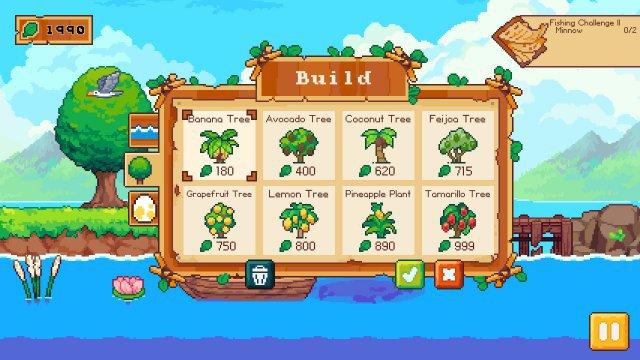 Screenshot - Luna's Fishing Garden (PC)