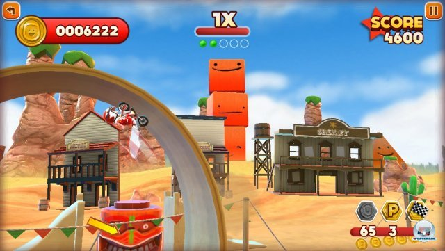Screenshot - Joe Danger Touch (iPhone) 92439337