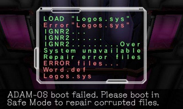 Zunächst wirkt das Spiel wie ein textadventure, aber schon bald ist man als Roboter auf zwei Etagen in dritter Dimension unterwegs.