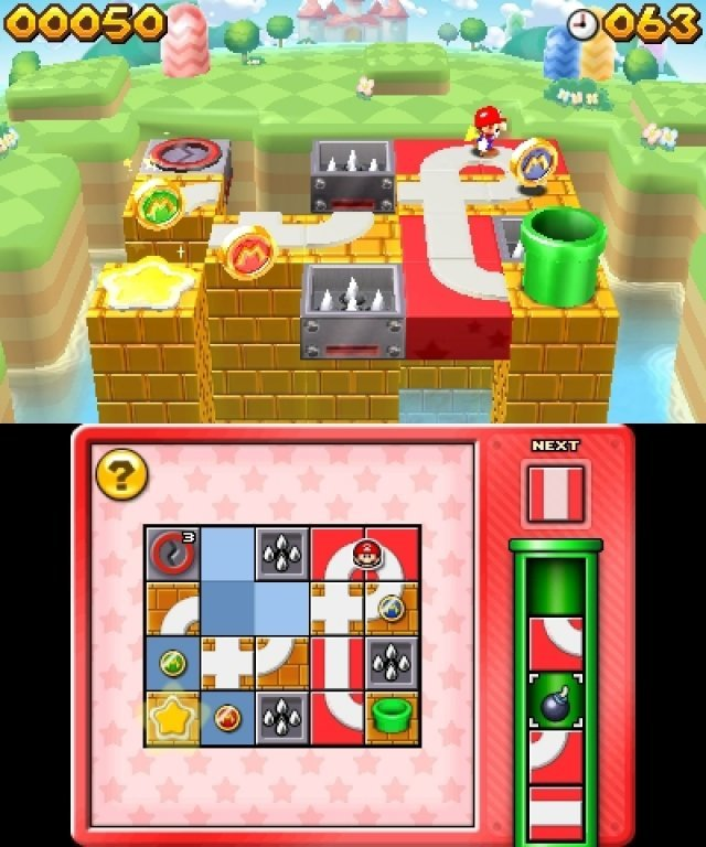 Screenshot - Mario & Donkey Kong: Minis on the Move (3DS)