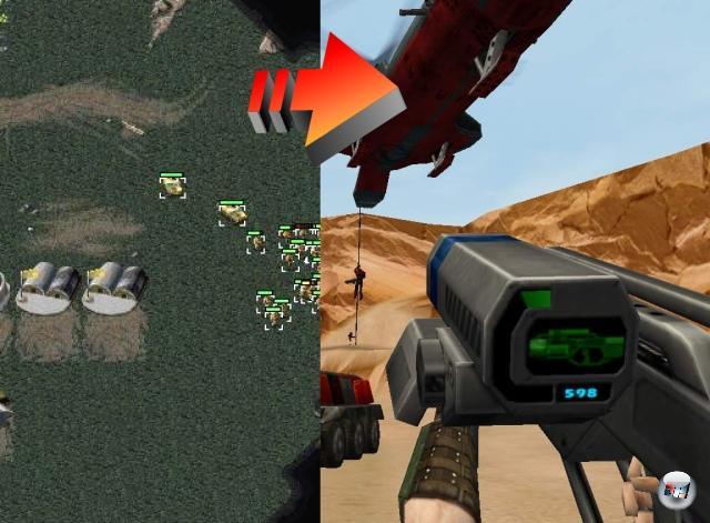 <br><br>...wobei es bei Command & Conquer umgekehrt lief: Zuerst war da das RTS, dann kam der Ego-Shooter um Nick »Havoc« Parker. 1974828