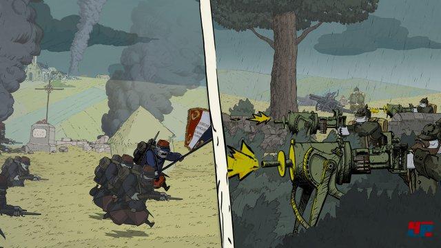 ... in die Hölle des Sturmangriffs. Emile muss als Soldat im französischen Heer dienen.
