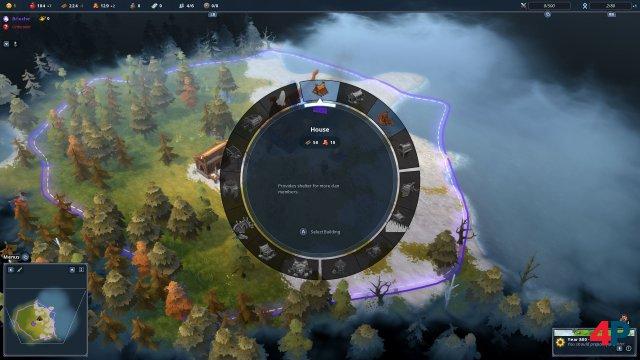 Interface der Konsolen-Version