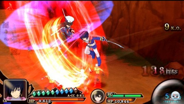 Screenshot - Tales of the Heroes: Twin Brave (PSP) 2315122