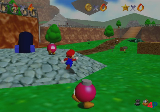 Screenshot - Super Mario 64 (N64)