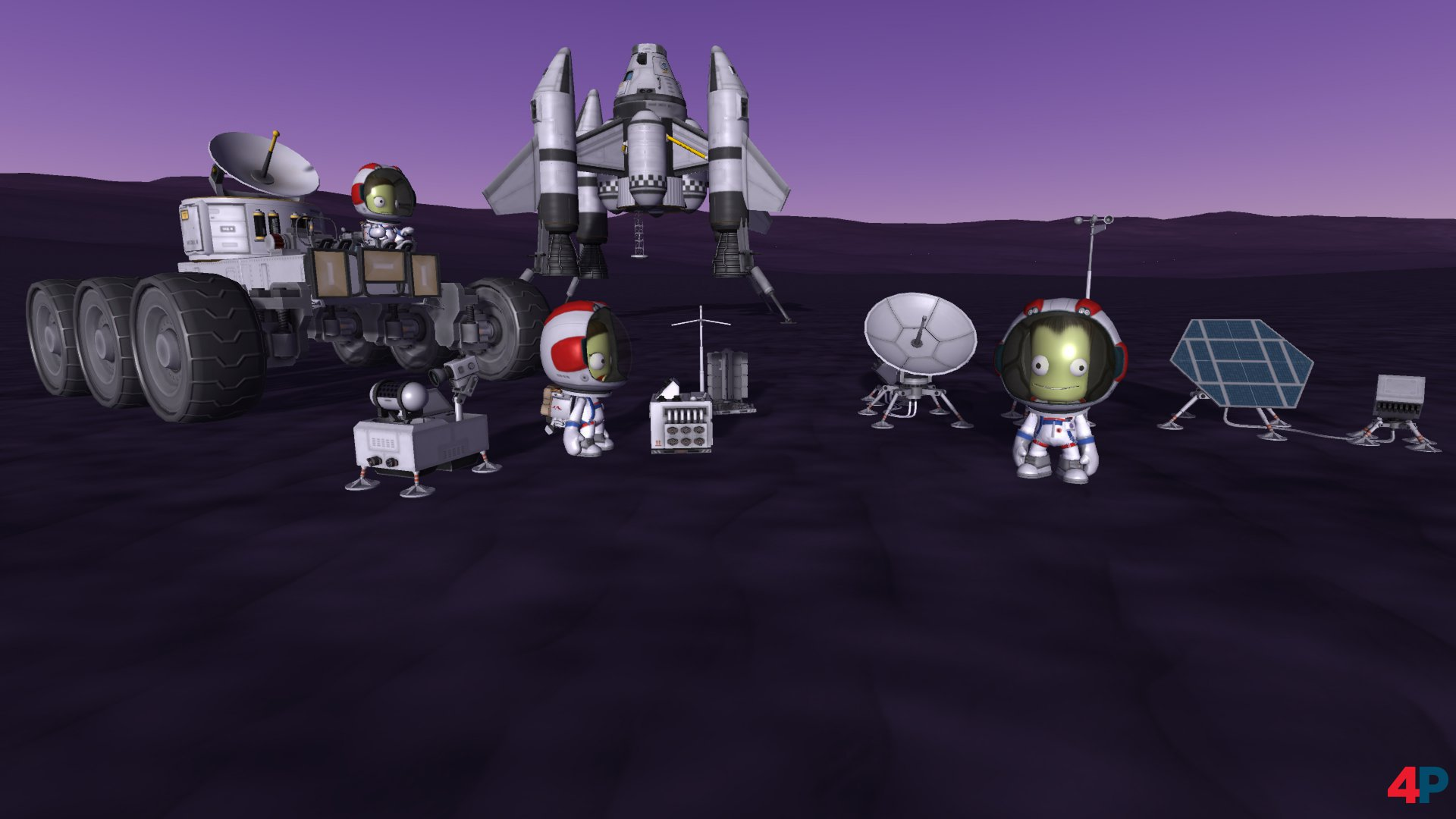 Kerbal Space Program Breaking Ground Erweiterung Fur Ps4 Und