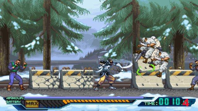 Screenshot - The Ninja Saviors: Return of the Warriors (Switch)