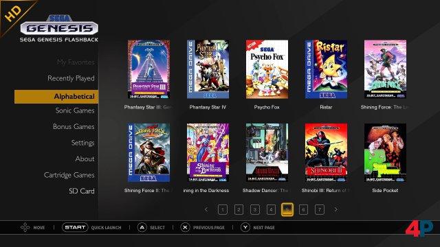 Screenshot - Mega Drive Flashback HD 2019 Edition (Spielkultur)