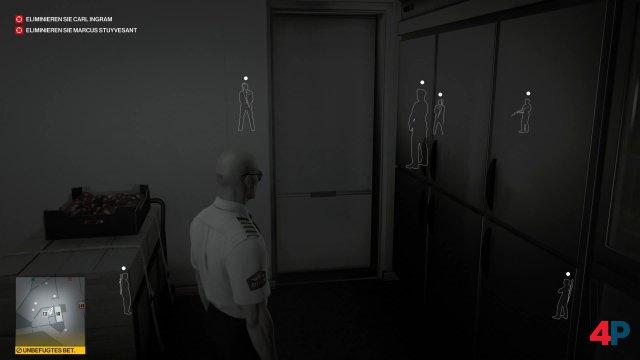 Mit der Instinkt-Ansicht kann man sich auch durch Wände hindurch einen Überblick verschaffen.
