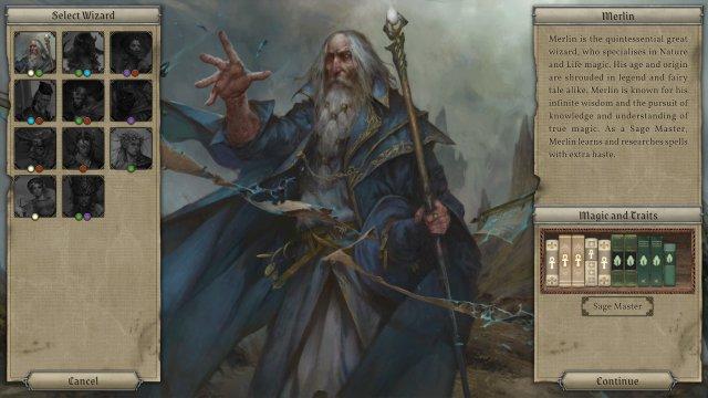 Screenshot - Master of Magic (PC)
