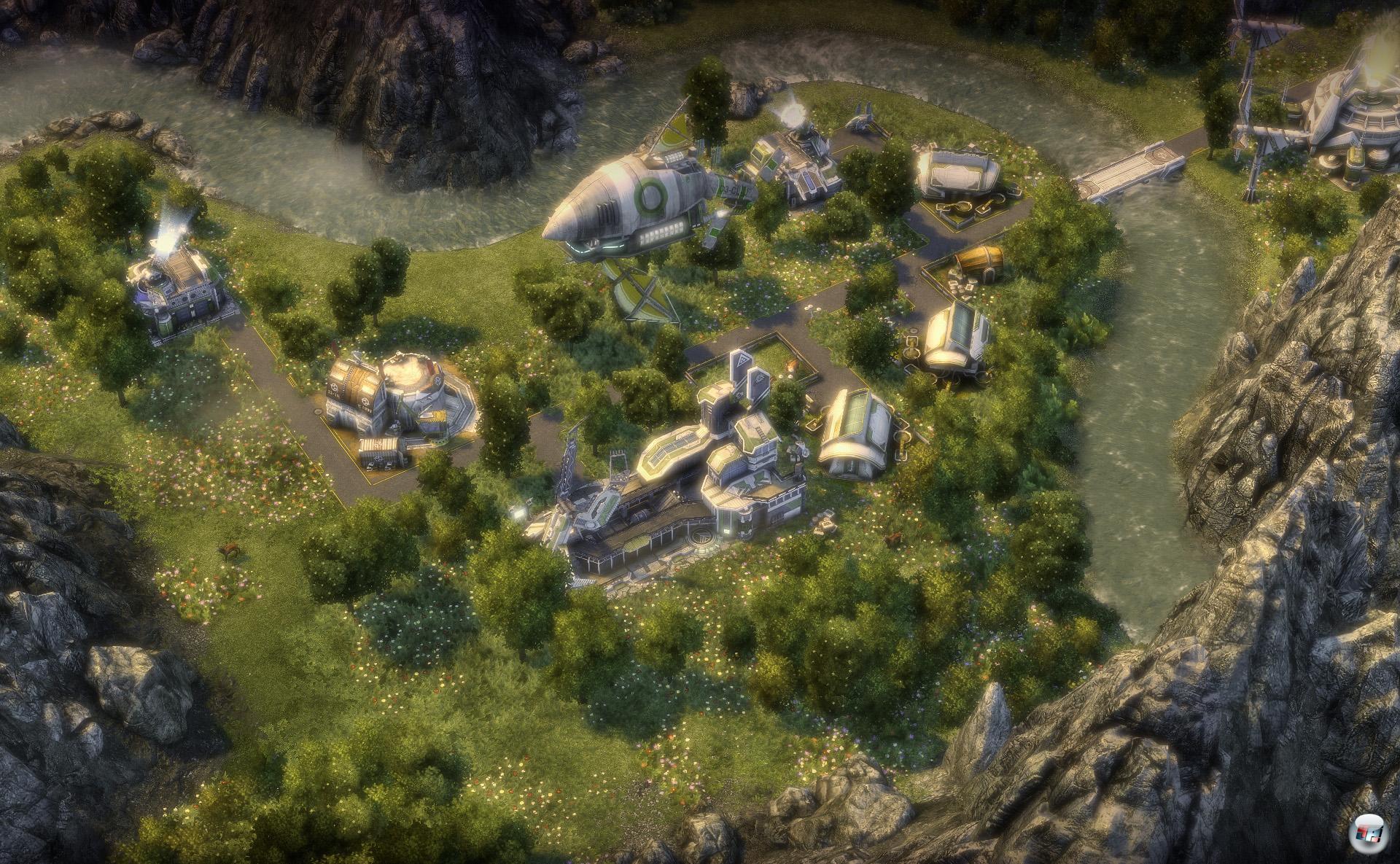 ANNO 2070 wird neben einer Kampagne und dem klassischen Endlosspiel auch einen Mehrspieler-Modus beinhalten. Im Story-Modus werden einige Missionen sogar aufeinander aufbauen, d.h. man kann seine Siedlung aus der vorherigen Mission sogar mitnehmen.