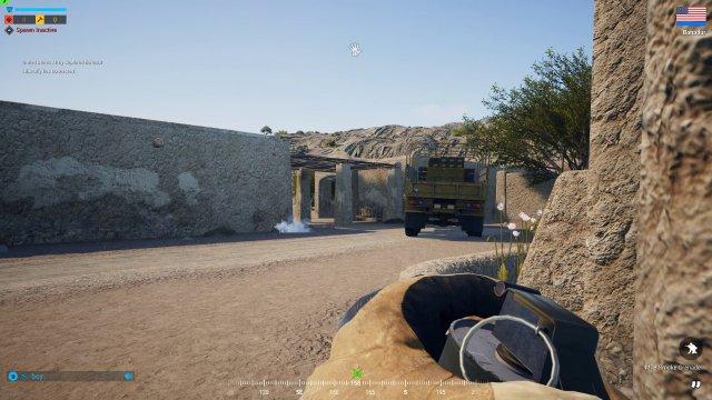 Schweres Geschütz: Fahrzeuge und Helikopter sind tödlich - aber auch Anfällig gegen Panzerabwehrfeuer, Raketenwerfer etc.