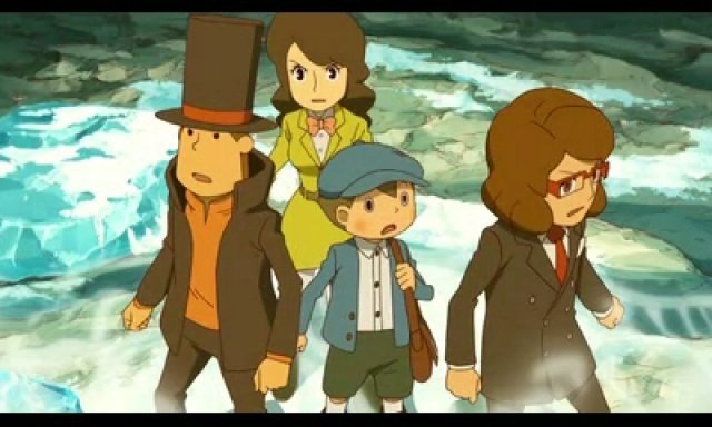 Screenshot - Professor Layton and the Azran Legacy (3DS) 92466000