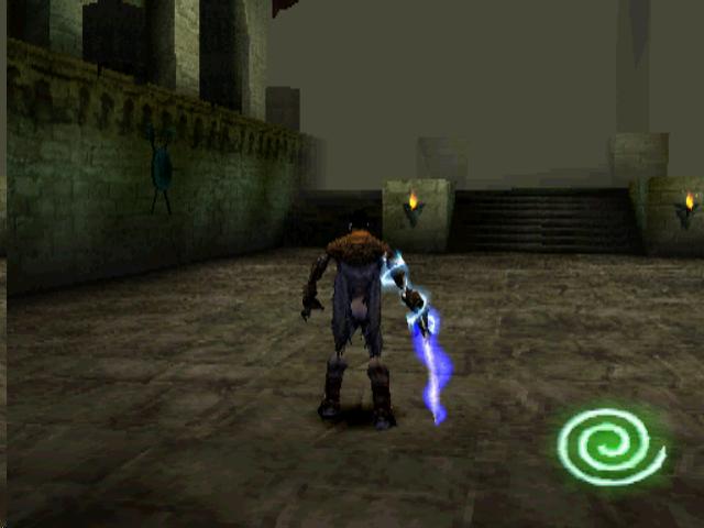 """Bis Raziel die legendäre Klinge """"Soul Reaver"""" führen konnte, musste er mit Klauen, Fackeln und anderen Waffen kämpfen."""