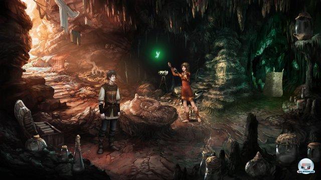 Um der Krähenplage Herr zu werden, soll Geron im Steinwald die geheimnisvolle Fee Nuri einfangen.