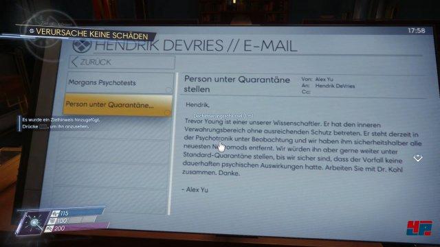 Auch in Mails können sich Hinweise und Codes verbergen.