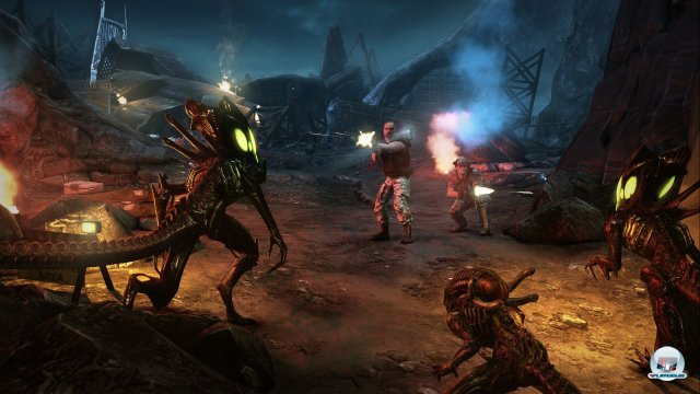 Screenshot - Aliens: Colonial Marines (360) 92430007