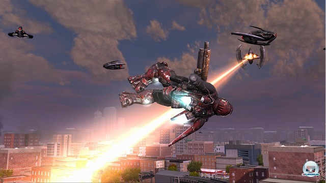 Screenshot - Earth Defense Force: Insect Armageddon (360)