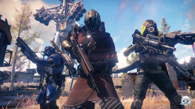 Eine straffe Geschichte, eine offene Onlinewelt, die Entwicklung des Charakters: Wo genau zwischen Borderlands, Halo und Defiance dieses Spiel seinen Platz sucht, bleibt noch offen.