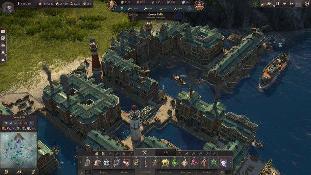 Screenshot - Anno 1800: Speicherstadt (PC)