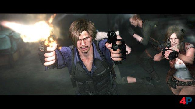 Action, Action und noch mehr Action: Mit Survival-Horror hat Resident Evil 6 kaum noch etwas zu tun.