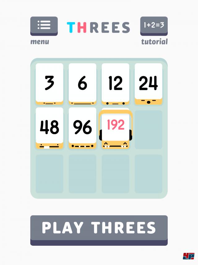 Screenshot - Threes! (iPad) 92483435