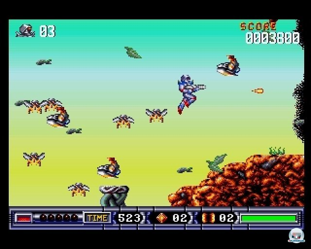 Screenshot - Turrican II (PC)