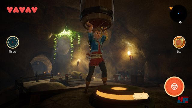 Screenshot - Oceanhorn 2: Knights of the Lost Realm (iPhone) 92545861