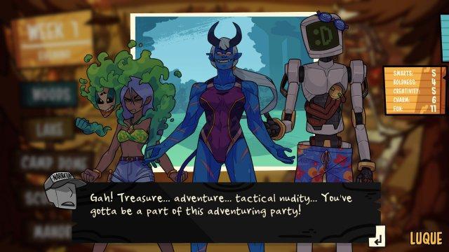 Screenshot - Monster Prom 2: Monster Camp (PC)