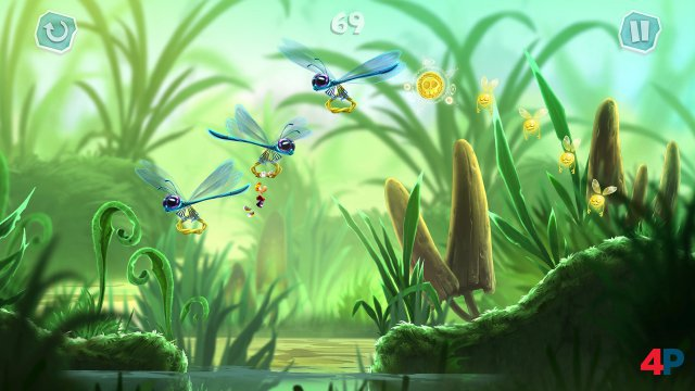 Screenshot - Rayman Mini (iPad)