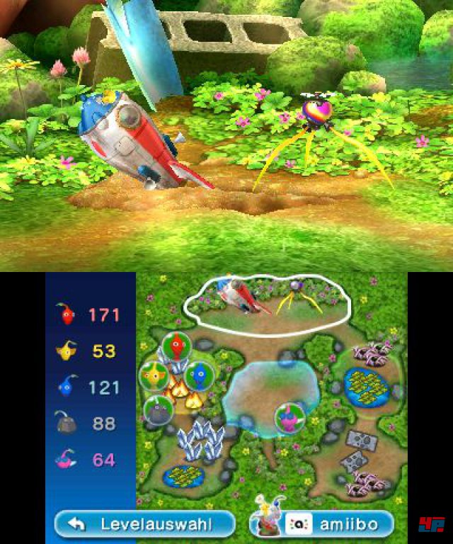 Screenshot - Hey! Pikmin (3DS) 92550156
