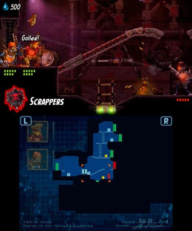 Screenshot - SteamWorld Heist (3DS) 92508196