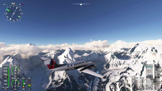 Auf dem Weg zum Mount Everest.