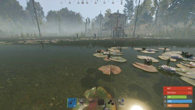 Die Spielwelt ist immer eine relativ kleine Insel bestehend aus verschiedenen Zonen.