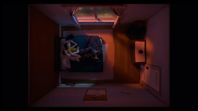 Zeit für Zweisamkeiten? Bisher gab es im Bewegtbild keine Szene zu sehen, die es den Protagonisten erlaubt hätte, sich ins Bett zu kuschenln.
