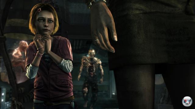 Die Angst von Amy ist immer sichtbar.
